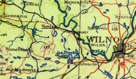 Vilna Kovna area in 1941