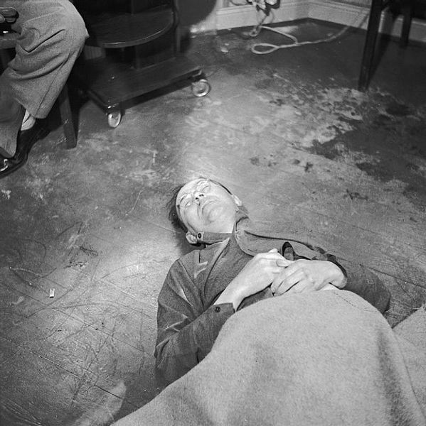 Death of Heinrich Himmler