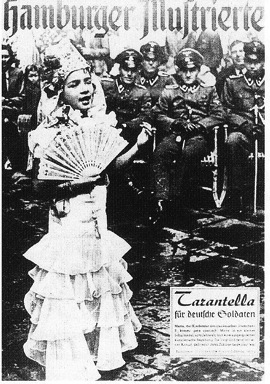 Tarantella for German soldiers
