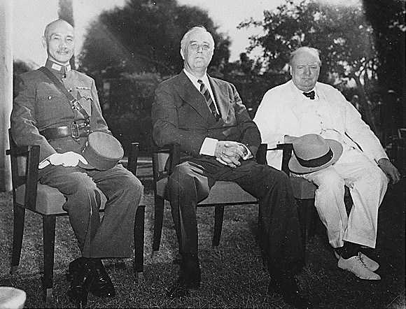 Churchill at the Cairo Conference