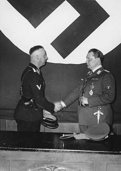 Herman Goering and Heinrich Himmler