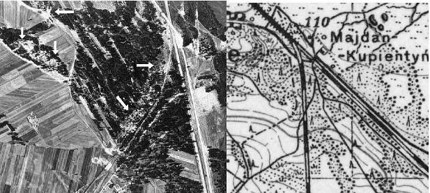 Treblinka November 1944 v. 1936
