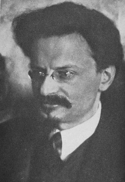 Leon Trotsky (1879-1940) born Lev Davidovich Bronstein was a Marxist revolutionary and the founder and first leader of the Red Army. By Isaac McBride (Barbarous Soviet Russia) [Public domain], via Wikimedia Commons