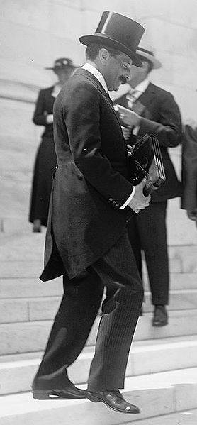 Jewish banker Paul Warburg (1868-1932) at the 1st Pan-American Financial Conference, Washington D.C., May, 1915. By Harris & Ewing [Public domain], via Wikimedia Commons